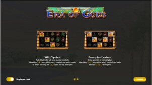 Era of Gods Video Slot Review By 1x2 Gaming