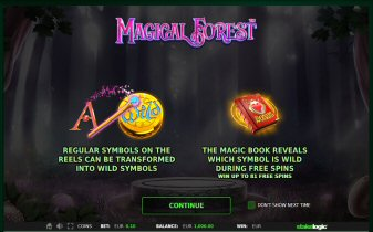 Magical Forest Video Slot Review By Stake Logic