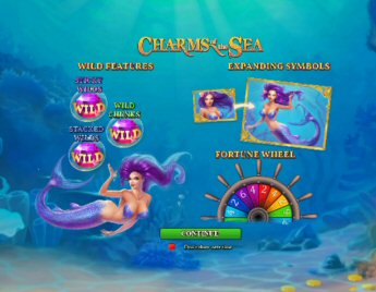 Charms Of The Sea Video Slot Review By Playtech