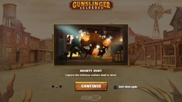 Gunslinger: Reloaded Video Slot Review By Play'n GO