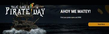 Talk Like A Pirate Day At Black Lotus Casino