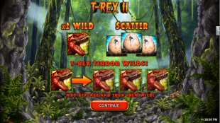 T-Rex II Video Slot Review By RTG