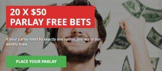 20 x $50 Parlay Free Bets At Intertops Sports