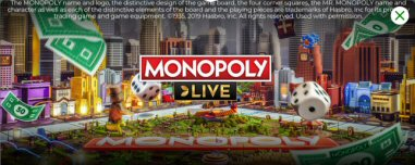 MONOPOLY LIVE CASH REWARDS At MrGreen Live Casino