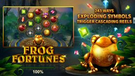 Frog Fortunes Video Slot Review By RTG