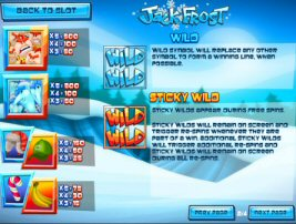 Jack Frost Video Slot Review By Rival