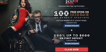 100 Free Spins At Jackpot Wheel Casino