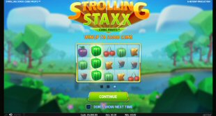 Strolling Staxx: Cubic Fruits Video Slot Review By NetEnt