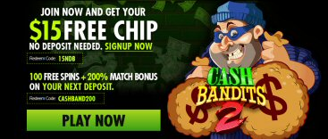 $15 Free Chip At Raging Bull Casino