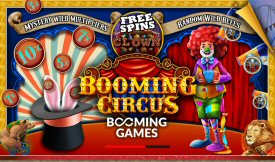 Booming Circus Video Slot Review By Booming Games
