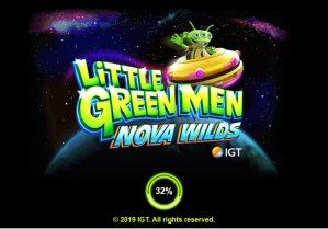 Little Green Men: Nova Wilds Video Slot Review By IGT