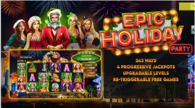 Epic Holiday Party Video Slot Review By RTG