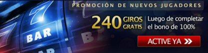 Promoción de nuevos jugadores en 24VIP Casino