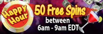 50 Free Spins At Jackpot Wheel Casino