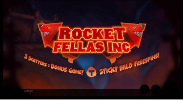 Rocket Fellas Inc Video Slot Review By Thunderkick
