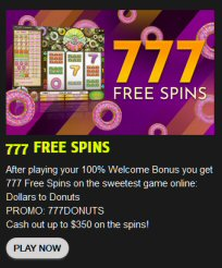 777 FREE SPINS At Cocoa Casino
