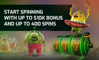 Welcome bonus At Pokie Spins Casino