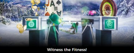 Witness The Fitness At MrGreen Live Casino