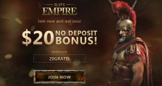 $20 No Deposit For New Players At Slots Empire Casino
