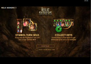 Relic Seekers Video Slot Review By Microgaming