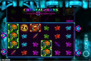 Queen of the Crystal Rays Video Slot Review By Microgaming