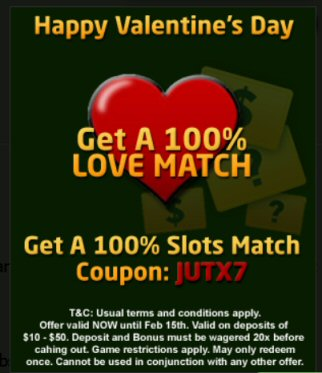 Valentine's Day Bonus At Inetbet Casino (RTG)