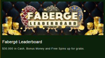 Fabergé Leaderboard At Wizbet Casino