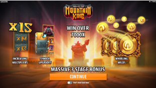 Hall of the Mountain King Video Slot Review By Quickspin