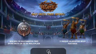 Champions of Rome Video Slot Review By Yggdrasil