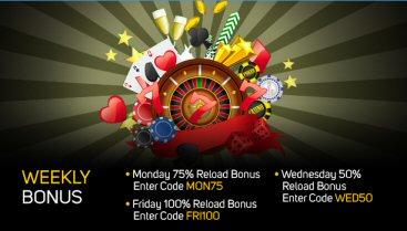 Weekly Bonuses At Gossip Slots Mobile Casino