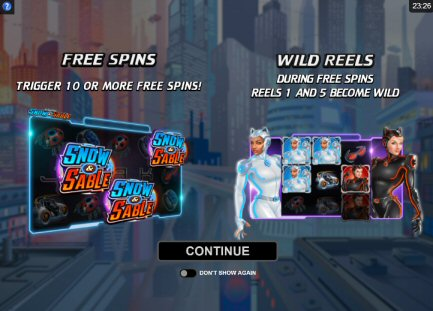 Action Ops Snow Sable Video Slot Review By Microgaming