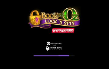 Book of Oz: Lock N Spin Video Slot Review By Microgaming