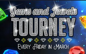 Gems and Jewels Tourney At Vegas Crest Casino